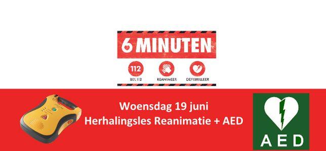 Herhalingsles Reanimatie + AED