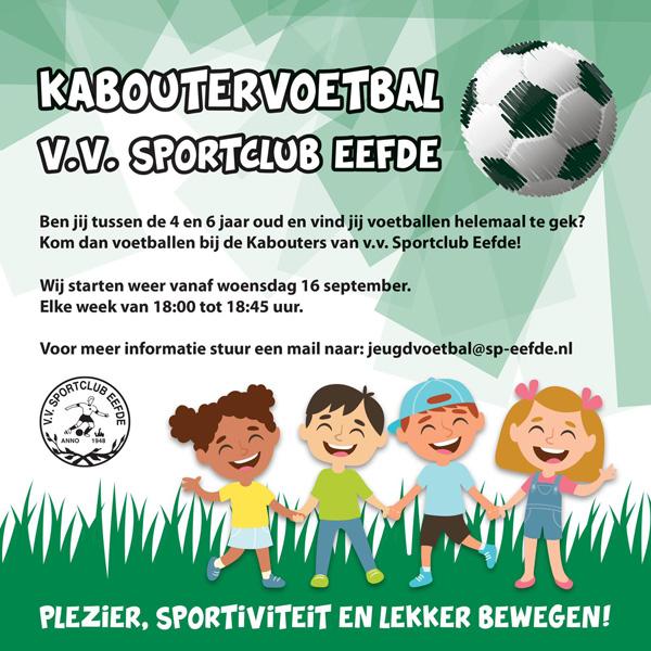 Kaboutervoetbal Eefde